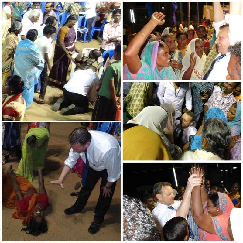Healing and deliverance at the Gospel outreach in kovilpatti, india 21-24 1