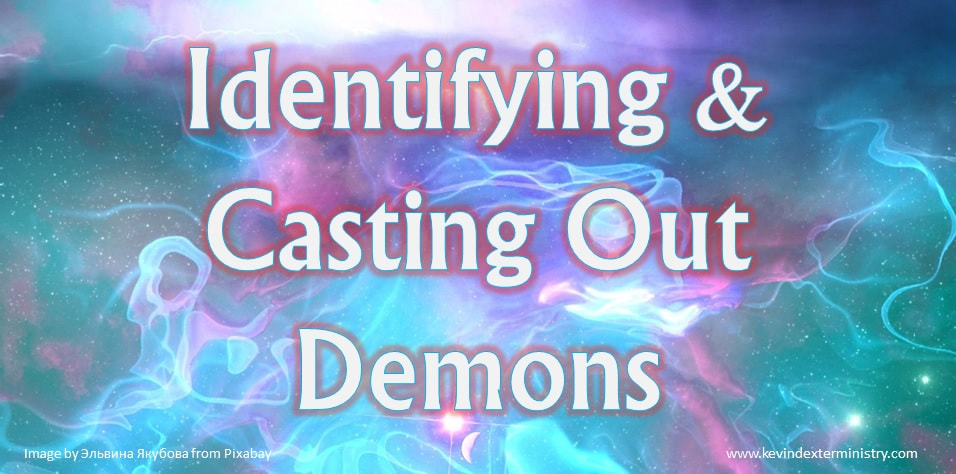 Identifying and casting out demons - cover