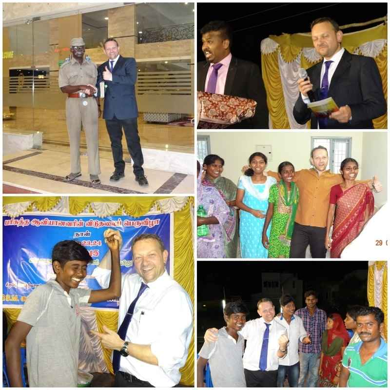 Ministry at the Gospel outreach in kovilpatti, india 21-24 2
