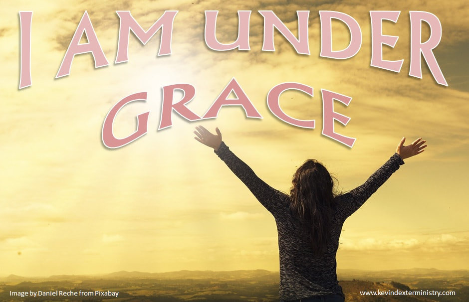 ​I AM UNDER GRACE - COVER